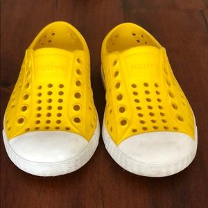 Native toddler shoes- Jefferson
